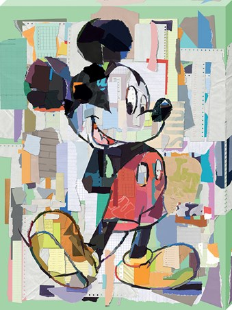 Office Decoupage - Mickey Mouse