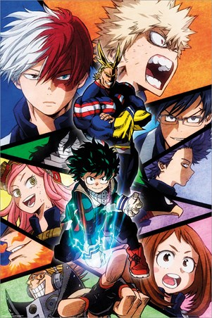 Character Burst - My Hero Academia