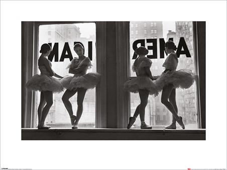 Ballet Dancers in Window - Time Life