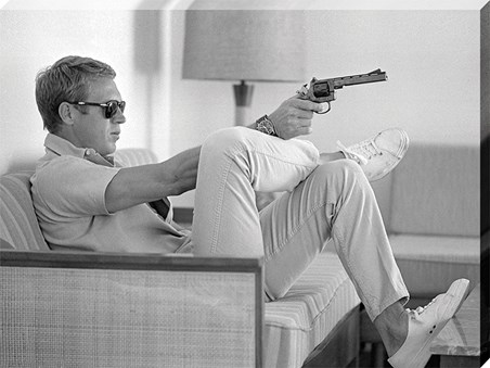 Steve McQueen - Takes Aim - Time Life