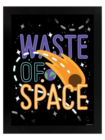 Watch Out For The Asteroid! - Waste Of Space