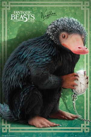 Framed Niffler - Fantastic Beasts and Where To Find Them