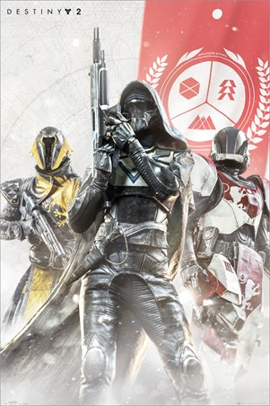 Hunter, Warlock and Titan, Destiny 2