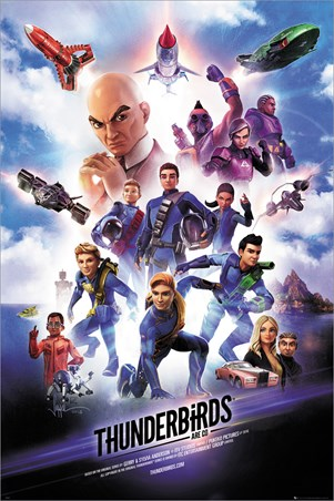 International Rescue! - Thunderbirds Are Go