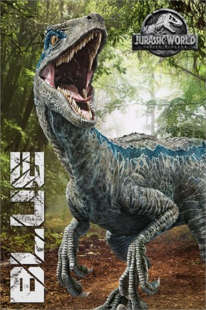 Fallen Kingdom- Blue - Jurassic World