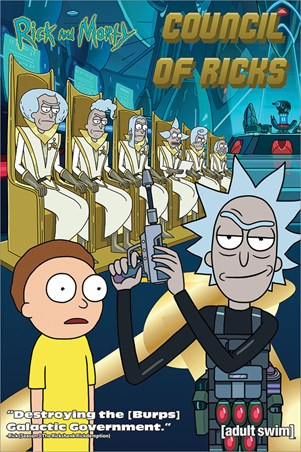 Council Of Ricks - Rick and Morty