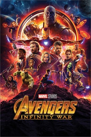 Infinity War One Sheet, Avengers