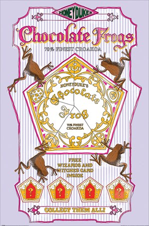 Honeydukes Chocolate Frogs - Harry Potter