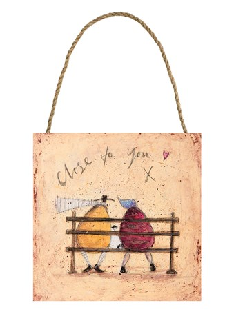 Close to You Wooden Wall Art - Sam Toft