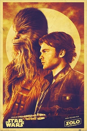 Han and Chewie - Solo: A Star Wars Story