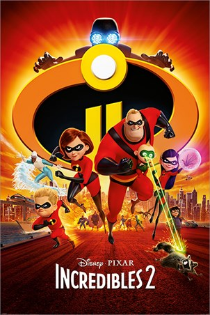 The Super Five To The Rescue! - Incredibles 2