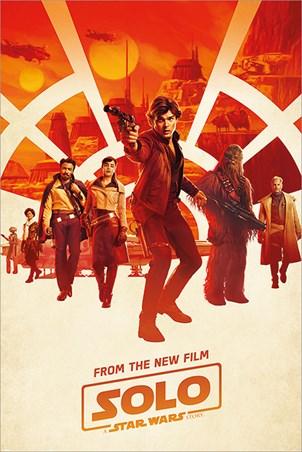 Framed Millennium Teaser - Solo: A Star Wars Story