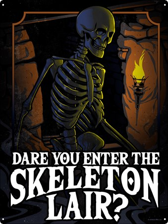 Dare You Enter The Skeleton Lair? - A Spooky Adventure
