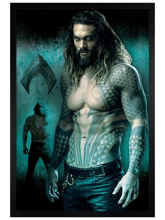 Framed Aquaman - Justice League of America