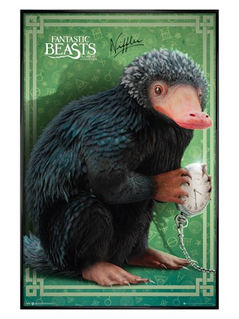 Gloss Black Framed Niffler - Fantastic Beasts and Where To Find Them