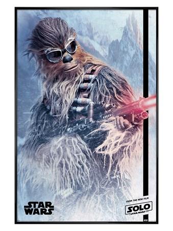 Framed Gloss Black Framed Chewie Blaster - Solo: A Star Wars Story