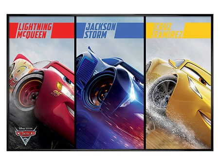 Gloss Black Framed Split - Cars 3