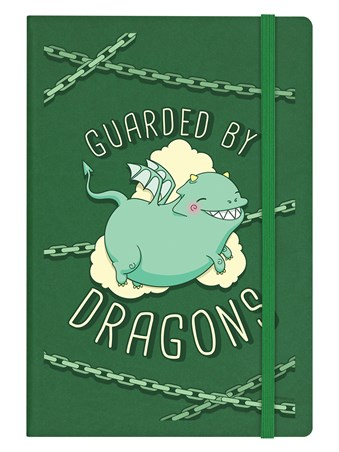 Guarded By Dragons - Hard Cover