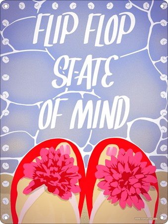 Flip Flop State Of Mind - Summer Vibes