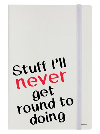 Never Ever! - Stuff I'll Never Get Round To Doing