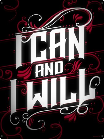 I Can And I Will, Never Give Up
