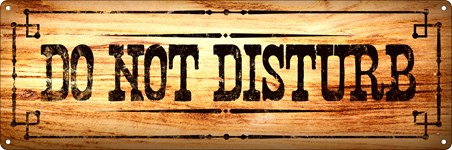 Do Not Disturb - Notice