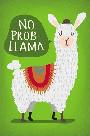 Llama No Probllama Poster