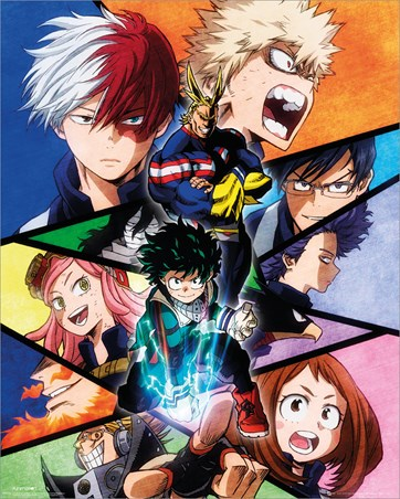My Hero Academia Group - Quirk