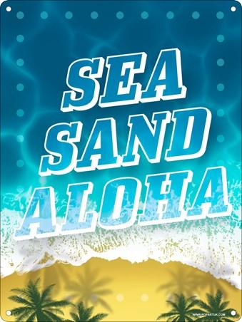 Sea, Sand, Aloha - Paradise