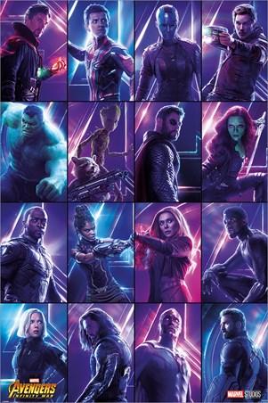 Infinity War Heroes - Avengers