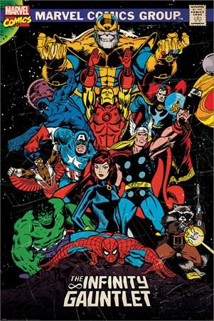 The Infinity Gauntlet Retro, Marvel