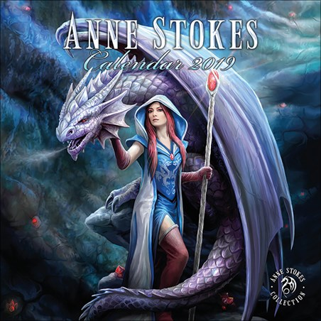 A Year Of Fantasy - Anne Stokes