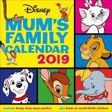 Mums Family Organizer - Disney Classics