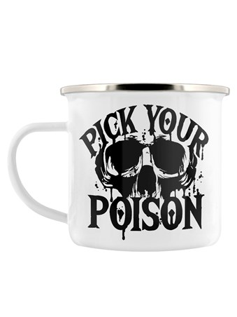 Pick Your Poison - Skull Illustration