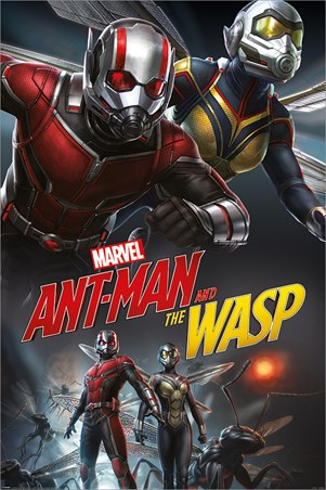 Ant-Man and The Wasp Dynamic - Marvel