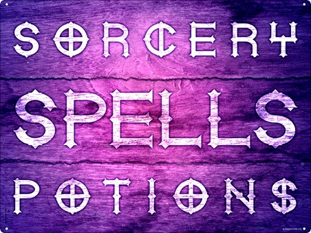 Sorcery, Spells & Potions - The Perfect Combination