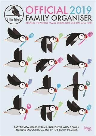 Family Organiser - I Like Birds