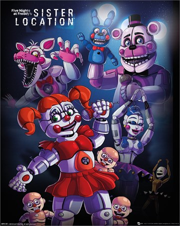 Sister Location Group - Five Nights at Freddy's