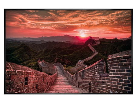 Sunset, The Great Wall Of China