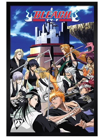 Black Wooden Framed Soul Reaper Clash - Bleach