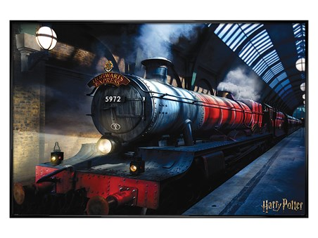 Gloss Black Framed Hogwarts Express - Harry Potter