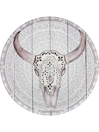 Bull Skull - Native Art