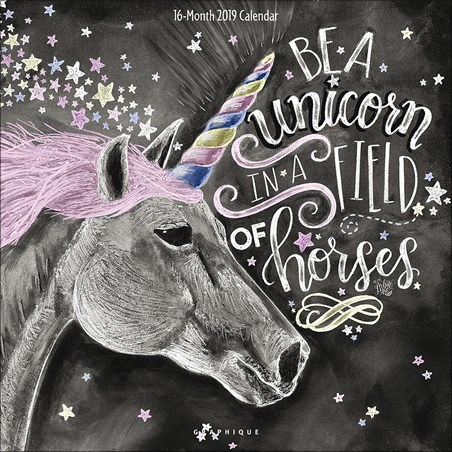 Chalkboard Quotes - Be A Unicorn