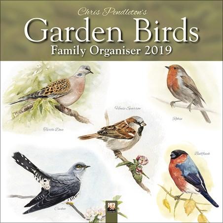 Garden Birds Family Organiser - Chris Pendleton
