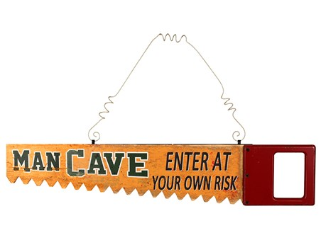 Enter At Your Own Risk - Man Cave
