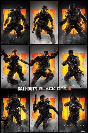 Black Ops 4 Characters - Call Of Duty