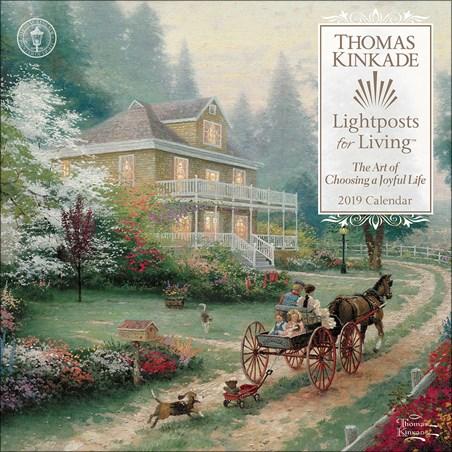 Lightposts for Living - Thomas Kinkade