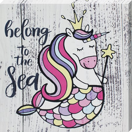 Belong To The Sea - Mermicorn