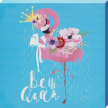 Be The Queen - Flamingo