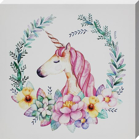 Unicorn Wreath - Sprinkled blooms of Magic